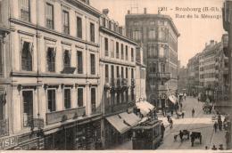 67 STRASBOURG  RUE DE LA MESANGE TRAMWAY - Strasbourg