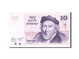 Israel, 10 Lirot, 1973, Undated, KM:39a, TTB - Israel