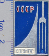 135 Space Soviet Russia Pin. Satellite KOSMOS - Raumfahrt