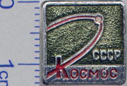 137 Space Soviet Russia Pin. Satellite KOSMOS - Raumfahrt