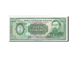 Paraguay, 100 Guaranies, 1952, 1952, KM:199b, SPL - Paraguay