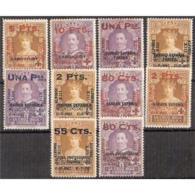 ES392STV-LFT**392.Spain Espagne ANIVERSARIO CORONACION ALFONSO Xlll. 1927 ( Ed 392/01*) Con Charnela.MAGNIFICA - Nuevos
