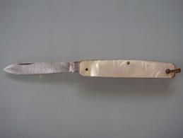 Couteaux  Genre Nacre - Couteaux