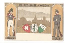 15077- Centenaire Vaudois Soldats Et Armoiries 1803-1903 - VD Vaud