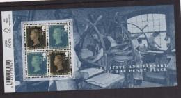 2015 -175 Anniversary Of The  Penny Black - 1952-.... (Elizabeth II)