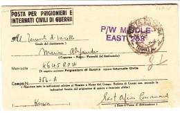 Kenya / P.O.W. Mail / Censorship / Italy - Kenia (1963-...)