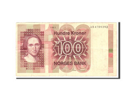 Norvège, 100 Kroner, 1981, Undated, KM:41c, TB - Norway