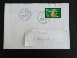 TOULON NAVAL - VAR - CACHET ROND MANUEL COMMEMORATIF ASSOCIATION GENERALE PREVOYANCE MILITAIRE SUR YT 3364 - Marcophilie (Lettres)