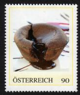 ÖSTERREICH 2014 ** Flüssiger Schokolade Kuchen - PM Personalized Stamp MNH - Ernährung