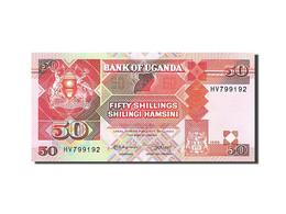 Uganda, 50 Shillings, 1987, 1989, KM:30b, NEUF - Ouganda