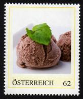 ÖSTERREICH 2014 ** Schokoladen Eis - PM Personalized Stamp MNH - Ernährung