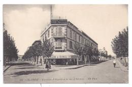 CPA Bizerte Tunisie Avenue D' Algérie Rue D'Athènes Naud Et Bunel Droguerie Pharmacie Française édit ND N°238 - Tunisie