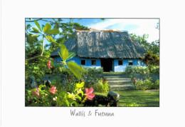 Océanie - Wallis Et Futuna Fale Bleu à Vailala - Wallis-Et-Futuna