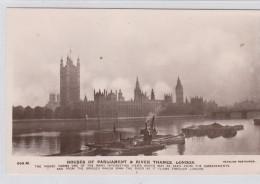 GB POSTCARDS HOUSES OF PARLIAMENT RIVER THAMES LONDON - Postcards