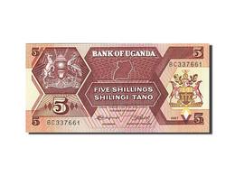 Uganda, 5 Shillings, 1987, 1987, KM:27, NEUF - Ouganda
