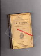SCOLAIRE-ECOLE- PRECIS GEOGRAPHIE DE LA TERRE- MOINS L' EUROPE-LEVASSEUR 1889-OCEANIE-AMERIQUE-ASIE-AFRIQUE - Books, Magazines, Comics