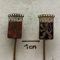 Badge (Pin) ZN002177 - Automobile (Car) / Kart / Airplane Praga Slovakia - Andere