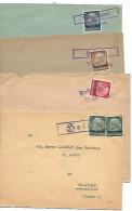 FRANCE 4  Lettre Obl. Provisoires 1940 Lorraine - Marcophilie (Lettres)