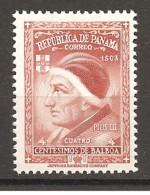 PANAMA - 1956 Papa PIO III  Nuovo** MNH - Papi