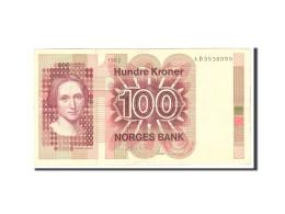 Norvège, 100 Kroner, 1981, Undated, KM:41c, TB+ - Norvegia