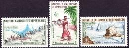 New Caledonia - Nouvelle Calédonie  1962 Yvert 302-04, Fishing & Water Sports - MNH - Nieuw-Caledonië