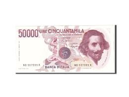 Italie, 50,000 Lire, 1984, KM:113a, 1984-02-06, TTB+ - [ 2] 1946-… : République