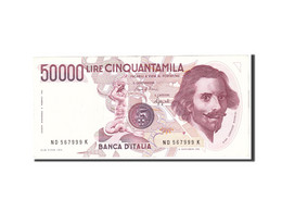 Italie, 50,000 Lire, 1984, KM:113a, 1984-02-06, TTB+ - 50000 Lire