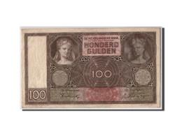 Pays-Bas, 100 Gulden, 1941, KM:51b, 1941-04-30, TTB - 100 Florín Holandés (gulden)