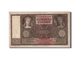 Pays-Bas, 100 Gulden, 1941, KM:51b, 1941-04-30, TTB - [2] 1815-… : Kingdom Of The Netherlands