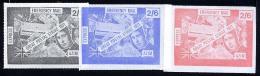 GRANDE-BRETAGNE 1971, GREVE, STRIKE, AZIM, 3 Valeurs, Neufs / Mint. R682 - Cinderellas