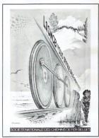 Ancienne Publicité Encaustique Boenwas Ca Va Seul à Base De DDT Et  SNCB Société Nationale Des Chemins De Fer Belges - Publicité