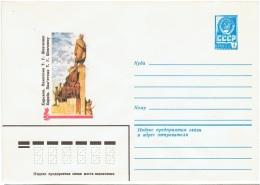 L-R13 - RUSSIE Entier Postal Monument à Staline - Monuments