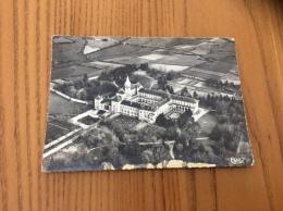 """CPSM """"DOURGNE (81) Abbaye Sainte-Scholastique - Vue Panoramique Aérienne"""" N°12A - Dourgne"""
