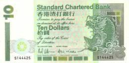 HONG KONG P. 284a 10 D 1993 UNC - Hong Kong