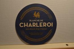 Sous-bocks Blanche De Charleroi - Belgium - Belgique - Bière - Sous-bocks
