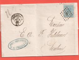 N° 18  / Lettre ( Lac ) Second Mois D'utilisation Fev 1866
