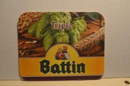 Sous-bocks Triple Battin - Belgium - Belgique - Bière - Sous-bocks