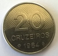Brésil - 20 Cruzeiros 1984 - Superbe - - Brasil