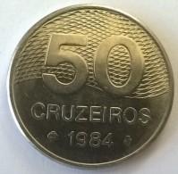 Brésil - 50 Cruzeiros 1984 - Superbe - - Brazil