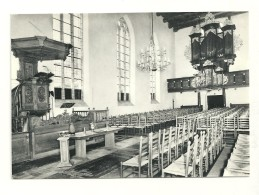 Dokkum : Martinuskerk Orgel (1688), Preekstoel (1915) - Dokkum
