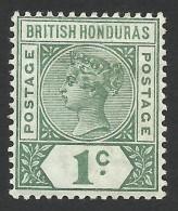 British Honduras, 1 C. 1891, Sc # 38, Mi # 31, MH - British Honduras (...-1970)