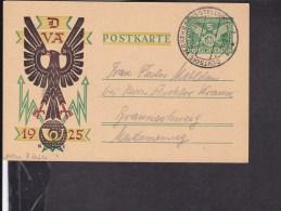 Ganzsache Deutsches Reich Deutsche Verkehrsausstellung München 1925 Sonderstempel - Germania