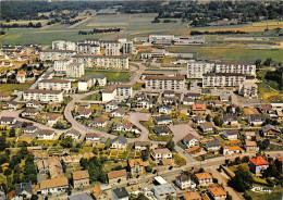70-HERICOURT- VUE PANORAMIQUE AERIENNE SUR LA Z.U.P - Andere Gemeenten