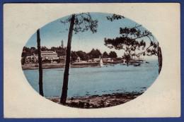 29 COMBRIT STE-MARINE Entrée Du Port, Vu Sur Bénodet ; Voiliers - Colorisée - Combrit Ste-Marine