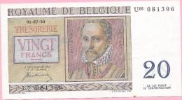 20 FRANCS 01-07-50 - [ 6] Treasury