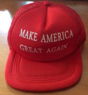 Make America Great Again ! Hat Donald Trump 2016 From Donald Trump FINAL Rally In Grand Rapids, Michigan, Nov.7 / 2016 - Casquettes & Bobs