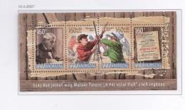 HONGRIE 2007 LES 100 ANS ROMAN LES GARCONS DE LA RUE PAUL BLOC299 MNH - Hongrie