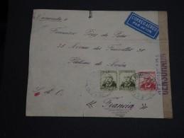 ESPAGNE- Enveloppe De Madrid Pour La France En 1936 Avec Censure  - A Voir - L 987 - Republikanische Zensur