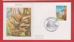 Monaco / 1er Jour / 7-11-1991 / Parc Du Mercantour : Pin Sylvestre - FDC