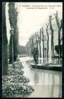 # - POISSY - Inondations De Janvier 1910 - Avenue De Migneaux - Poissy